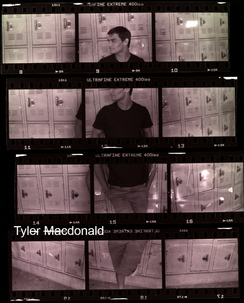 Tyler Macdonald Contact Sheet