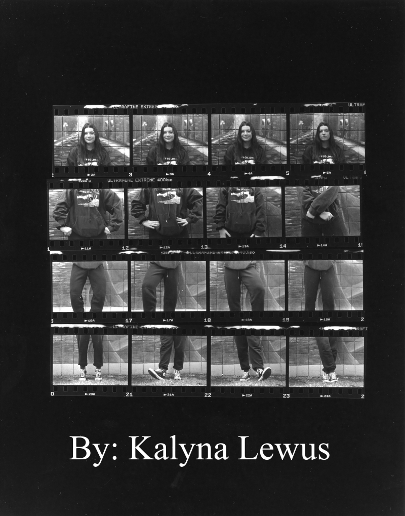 Contact sheet by Kalyna Lewus