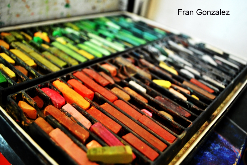 Fran Gonzalez compimentary colors still life