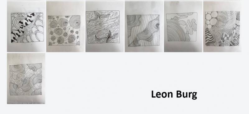 Leon Burg zentangle 1