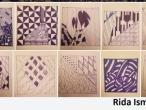 Rida Ismail zentangles