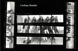 Lindsay Beeder Contact Sheet Print