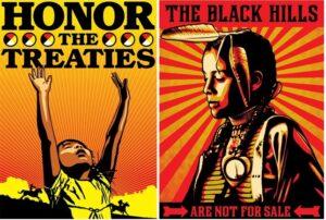Shepard Fairey Honor the Treaties